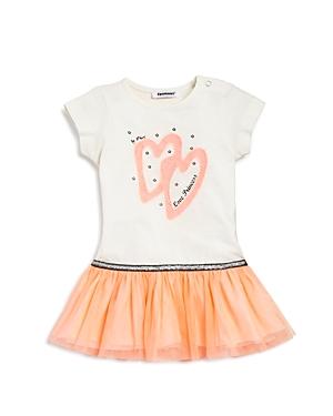 3 Pommes Infant Girls Heart  Star Graphic Dress  Sizes 324 Months