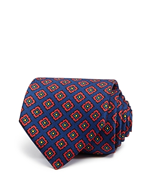 Drake's Square Medallion Neat Classic Tie