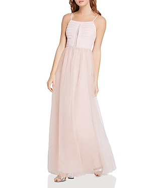 BCBGeneration Pleated-Bodice Maxi Dress