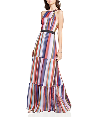 BCBGeneration Striped Maxi Dress