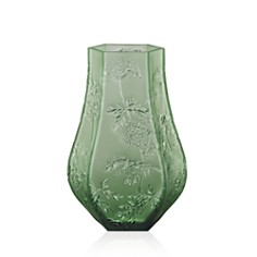 Lalique Ombelles Green Vase - Bloomingdale's_0