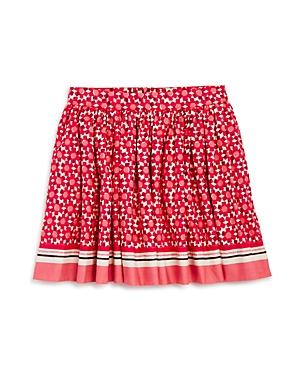kate spade new york Girls' Floral Tile Skirt - Sizes 2-6