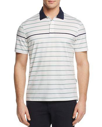 AG Green Label - Farrell Stripe Regular Fit Polo Shirt