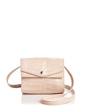 Elizabeth and James Eloise Field Embossed Leather Crossbody - 100% Exclusive