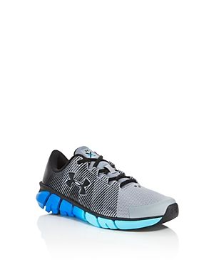 Under Armour Boys XLevel Mesh Sneakers  Big Kid