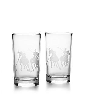Ralph Lauren - Garrett Highball Glasses, Set of 2