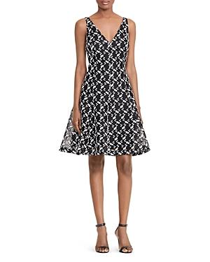 Lauren Ralph Lauren Floral-Embroidered Dress