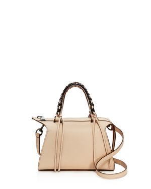 Elena Ghisellini Gabria Mini Leather Satchel