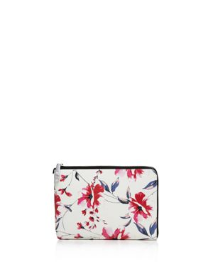 Ivanka Trump Rio Tech Floral Leather Clutch