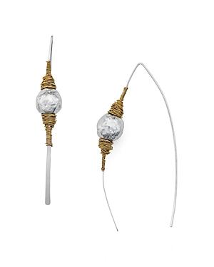 Robert Lee Morris Soho Wire Threader Earrings