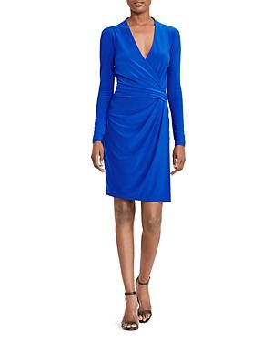 Lauren Ralph Lauren Faux-Wrap Dress