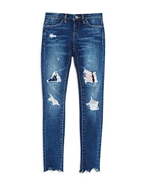 Blanknyc Girls' Skinny Rip & Repair Jeans - Sizes 7-14