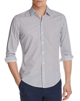 BOSS - Robbie Check Classic Fit Button Down Shirt