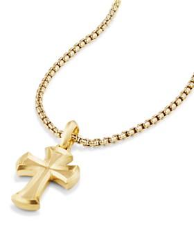 d24329b3bf6789 ... David Yurman - Cross Amulet in 18K Gold