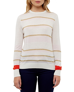 Ted Baker Metallic Stripe Sweater