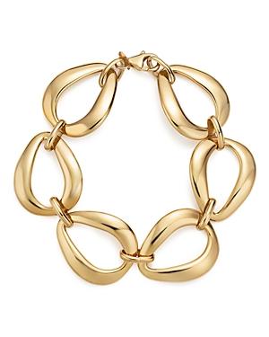 14K Yellow Gold Pear Shape Link Bracelet - 100% Exclusive