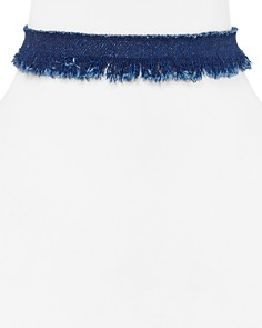 "Jules Smith Sky Denim Choker Necklace, 11"" - Bloomingdale's_0"