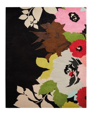 kate spade new york Gramercy Mega Floral Area Rug, 5' x 8'