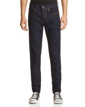 rag & bone Standard Issue Super Slim Jeans in Rinse Selvege