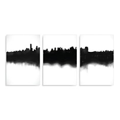 Art Addiction Inc. Skyline Triptych Wall Art - 100% Exclusive - Bloomingdale's Registry_0