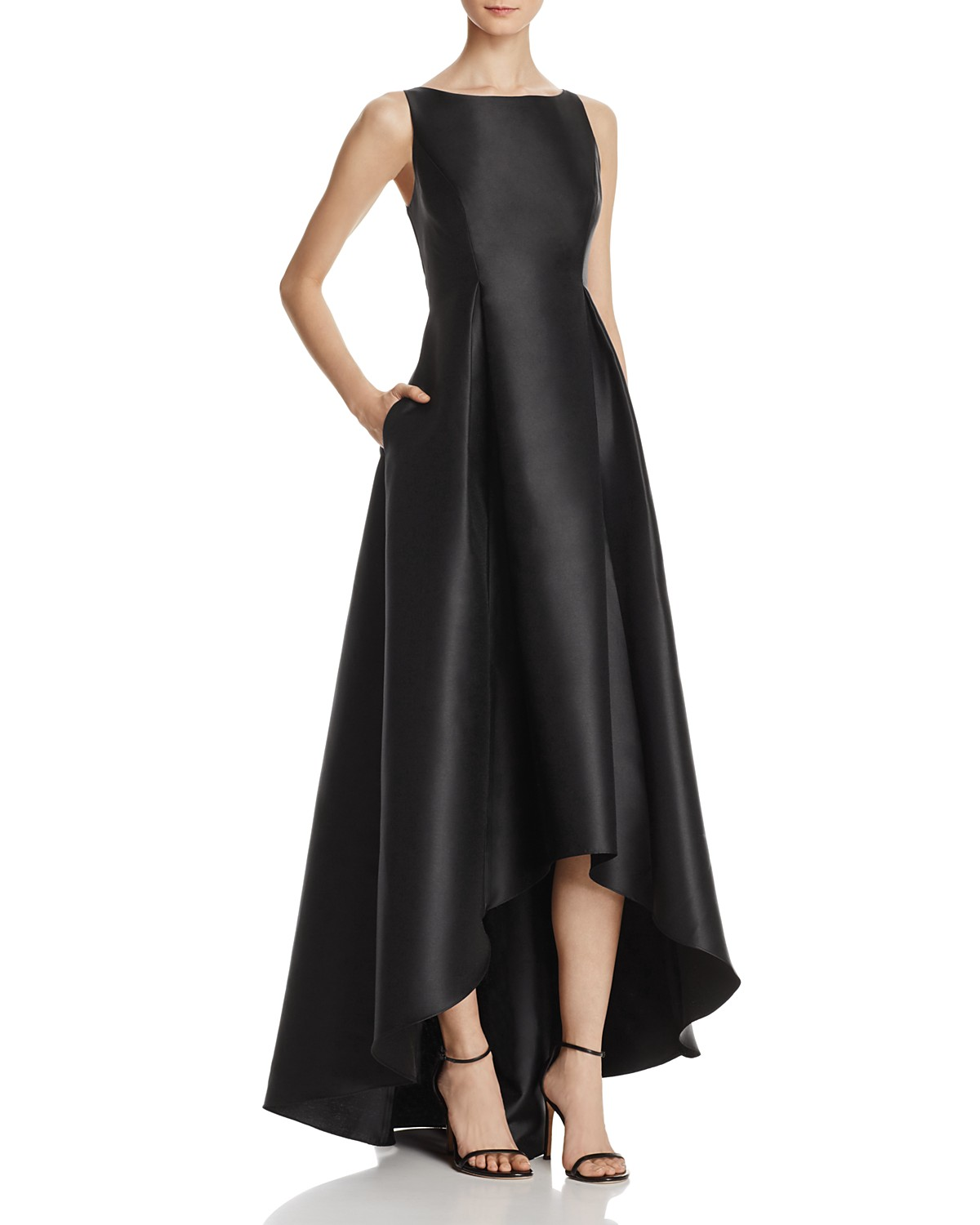Adrianna Papell Sleeveless High/Low Ball Gown | Bloomingdale\'s