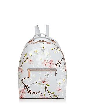 Ted Baker Darissa Oriental Bloom Leather Backpack