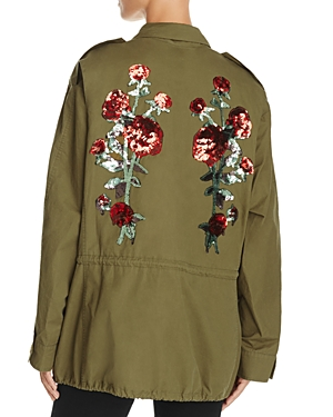 Endless Rose Sequined Rose Anorak