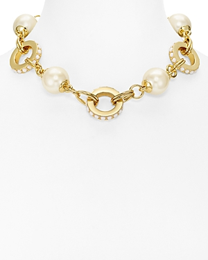 kate spade new york Link Statement Necklace, 14