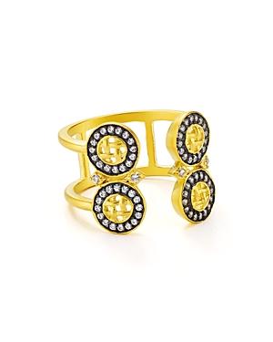 Freida Rothman Double Band Ring