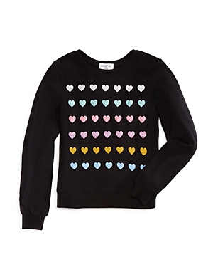 Wildfox Girls' Heart Pullover, Big Kid - 100% Exclusive