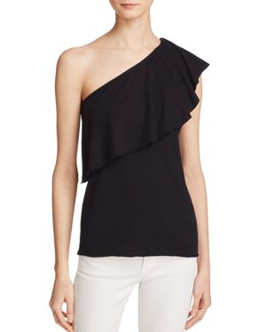 Nation Ltd One Shoulder Ruffle Top - 100% Exclusive