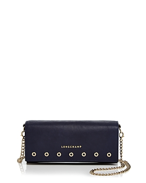Longchamp Paris Rocks Wallet With Chain Crossbody
