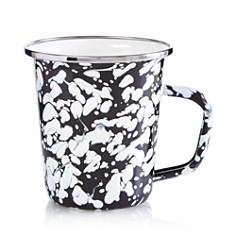 Golden Rabbit - Enamel Swirl Latte Mug