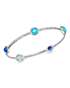 IPPOLITA - Sterling Silver Rock Candy® Wonderland Bangle in Island