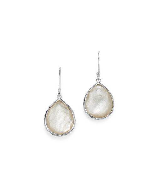IPPOLITA - Ippolita Sterling Silver Wonderland Teardrop in Mother-of-Pearl Earrings
