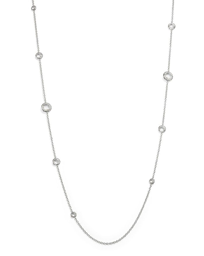 IPPOLITA - Ippolita Sterling Silver Rock Candy® Lollipop Necklace in Clear Quartz