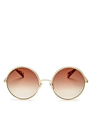 marc jacobs female marc jacobs round sunglasses 57mm