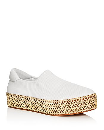 Opening Ceremony - Women's Cici Woven Platform Slip-On Sneakers