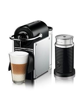 Nespresso - Pixie Espresso Machine by De'Longhi with Aeroccino Milk Frother