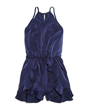 Aqua Girls' Ruffle Romper, Sizes S-xl - 100% Exclusive