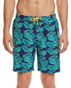 Sovereign Code Cannonball Banana Print Swim Trunks