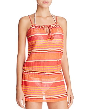 Polo Ralph Lauren Playa Stripe Dress Swim Cover-Up