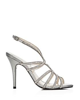 Caparros - Women's Helena Embellished Satin High-Heel Sandals