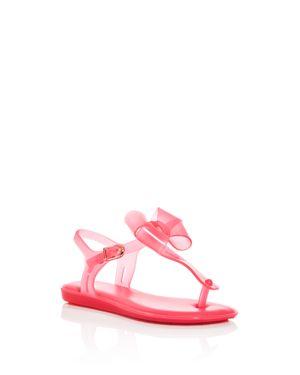 Mini Melissa Girls' Mel by Melissa Solar Bow T-Strap Sandals - Toddler, Little Kid, Big Kid