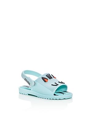 Mini Melissa Girls' Mini Mia + Fabula Slingback Sandals - Walker, Toddler