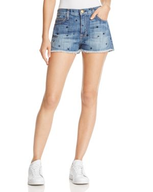 Current/Elliott The Boyfriend Denim Cutoff Shorts in Revival - 100% Exclusive