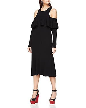 Bcbgmaxazria Carol Ann Cold-Shoulder Dress