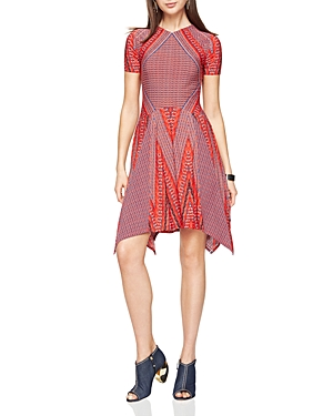 Bcbgmaxazria Poppy Printed Dress