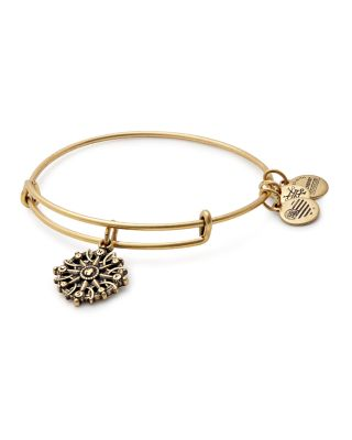 ALEX AND ANI Compass Adjustable Wire Bangle (Nordstrom Exclusive) in Russian Gold