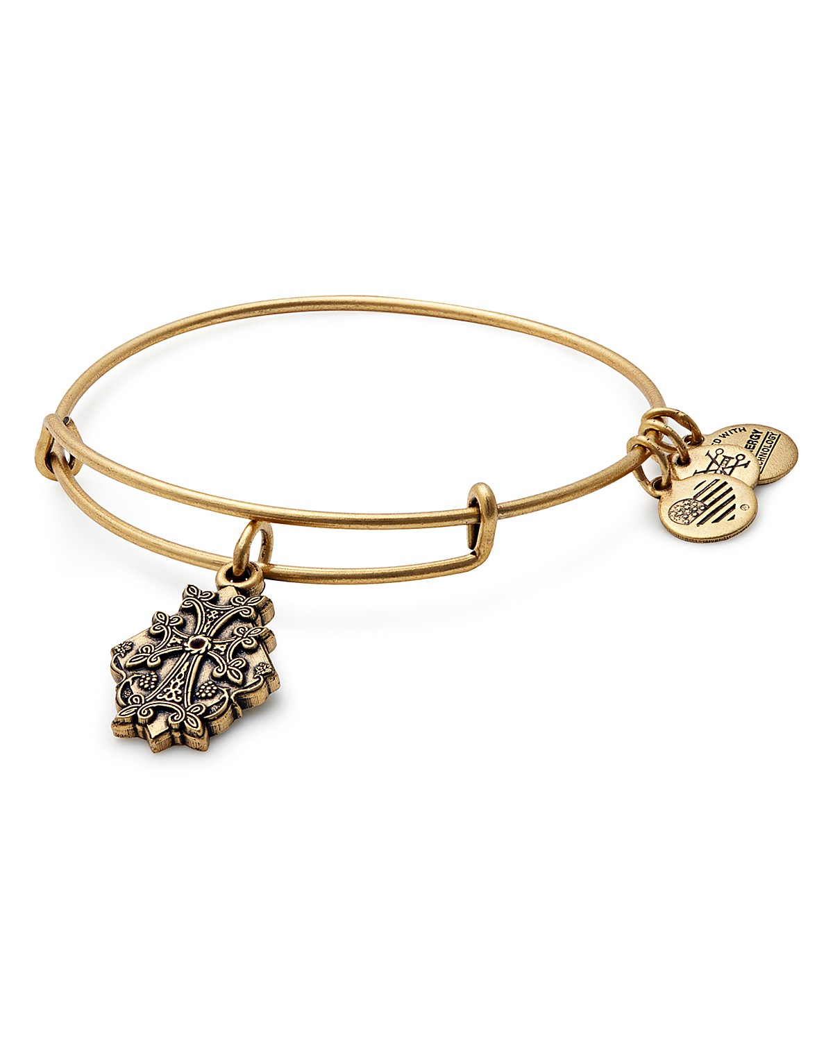 Alex and Ani Armenian Cross Expandable Wire Bangle | Bloomingdale\'s